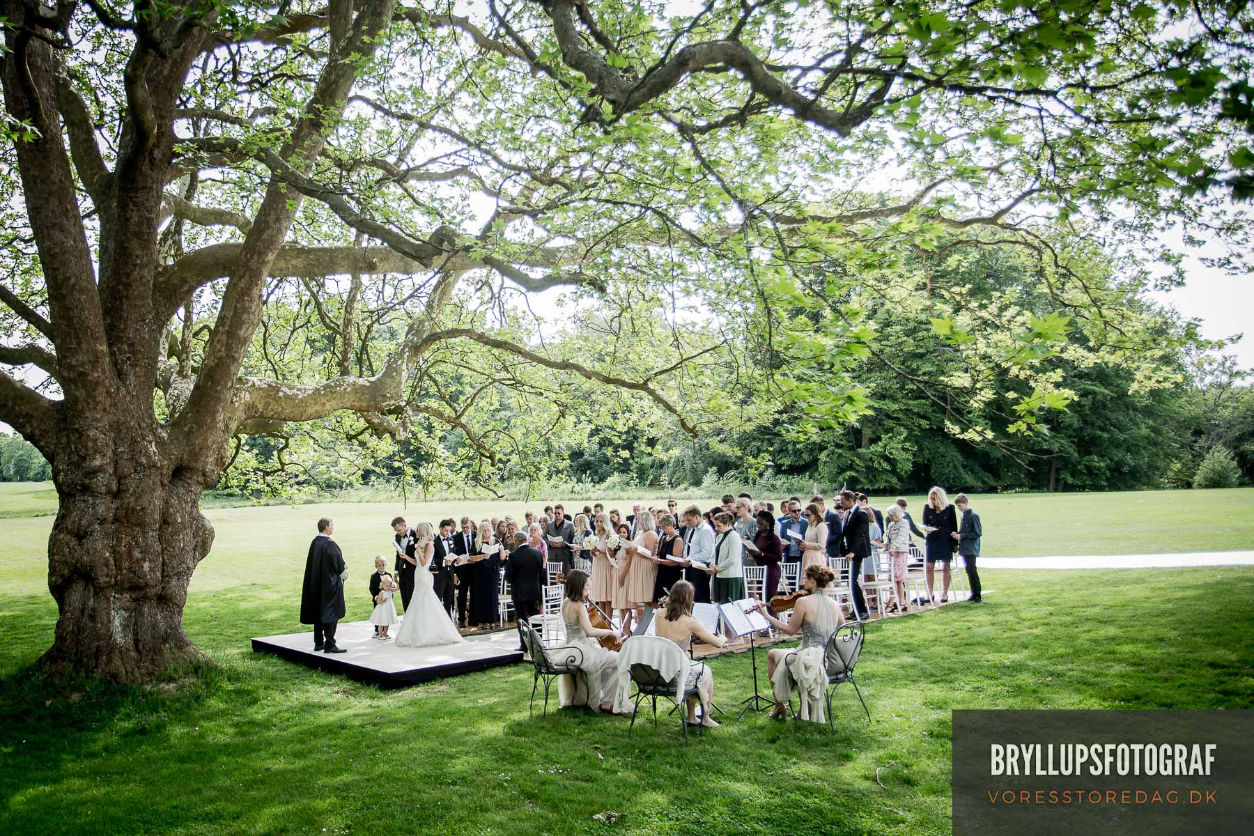 bryllup foto Roskilde