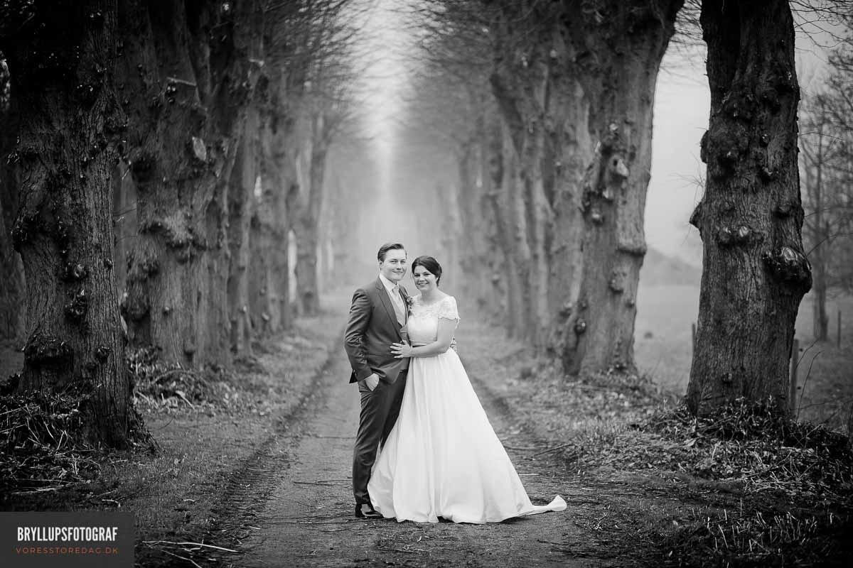 Dit Bryllup er unikt og det skal dine billeder naturligvis afspejle.