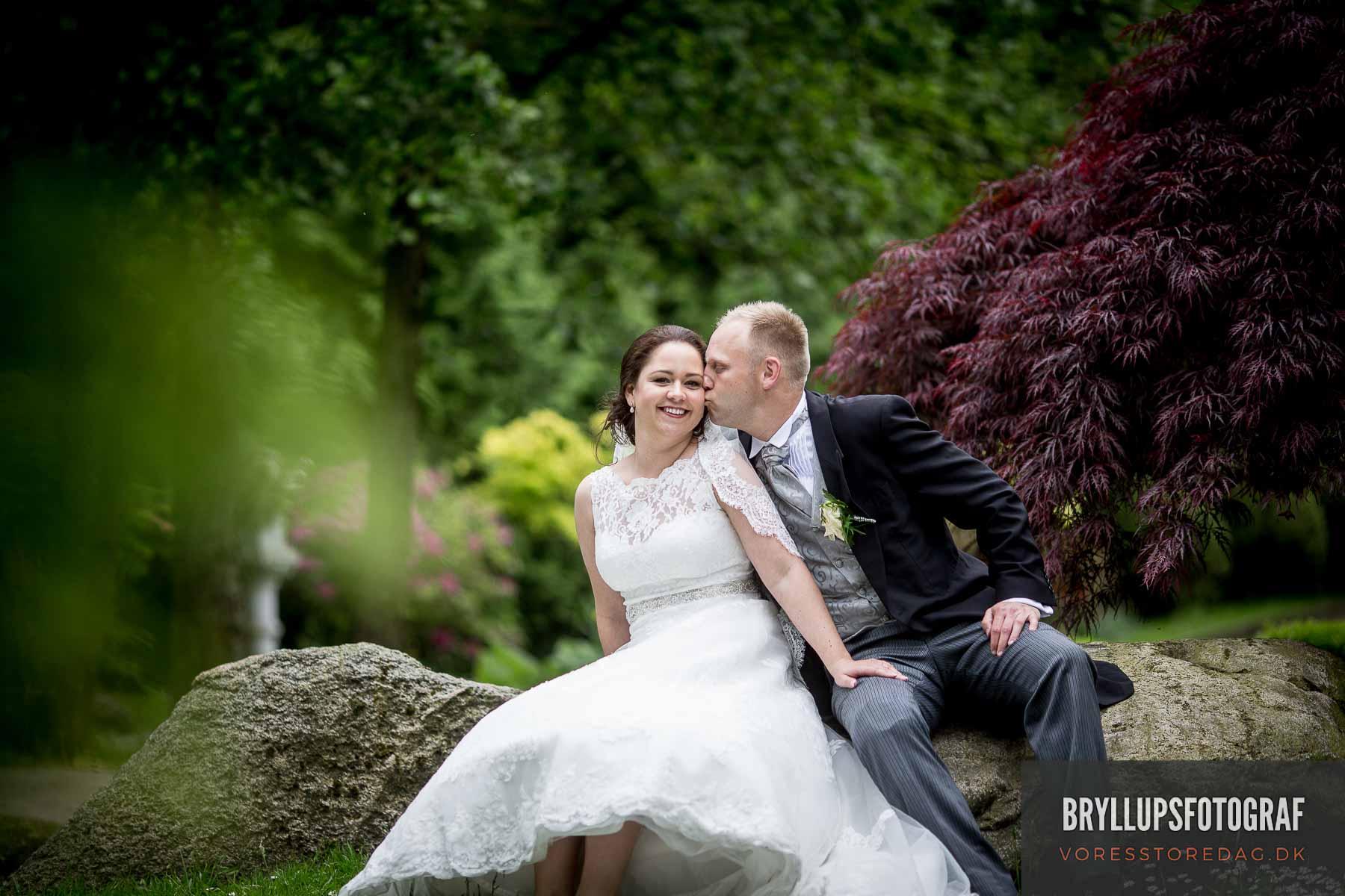 Bryllupsfotograf København - Flotte og kreative bryllupsbilleder