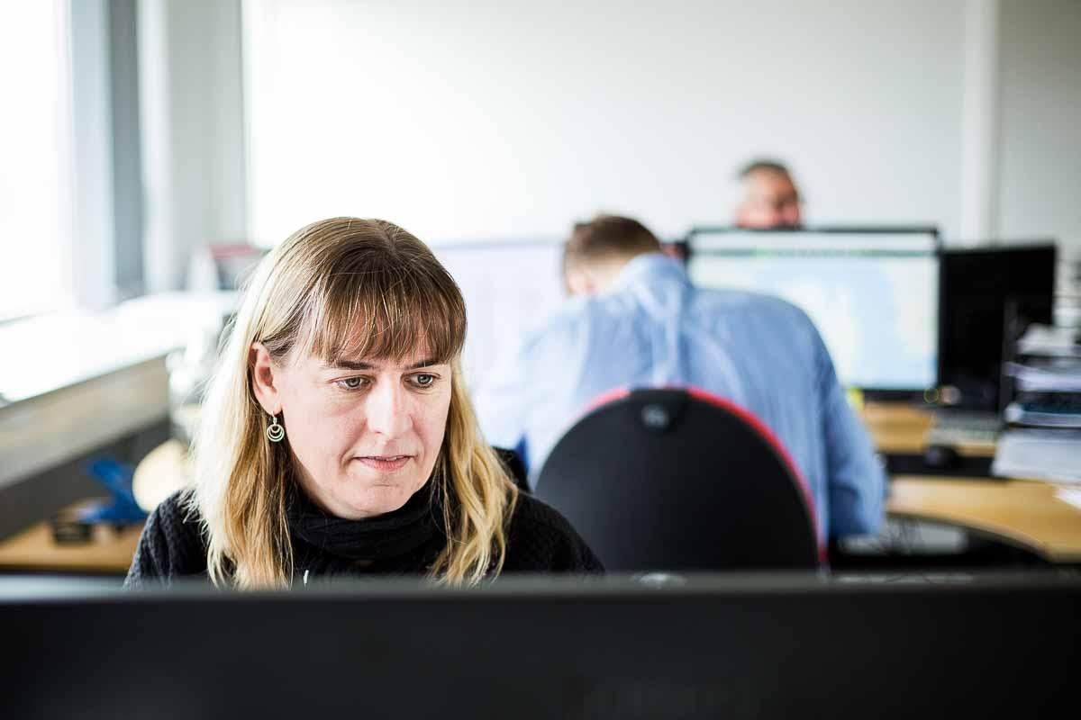 Professionelle erhvervsportrætter af virksomhedens ansatte m.fl.