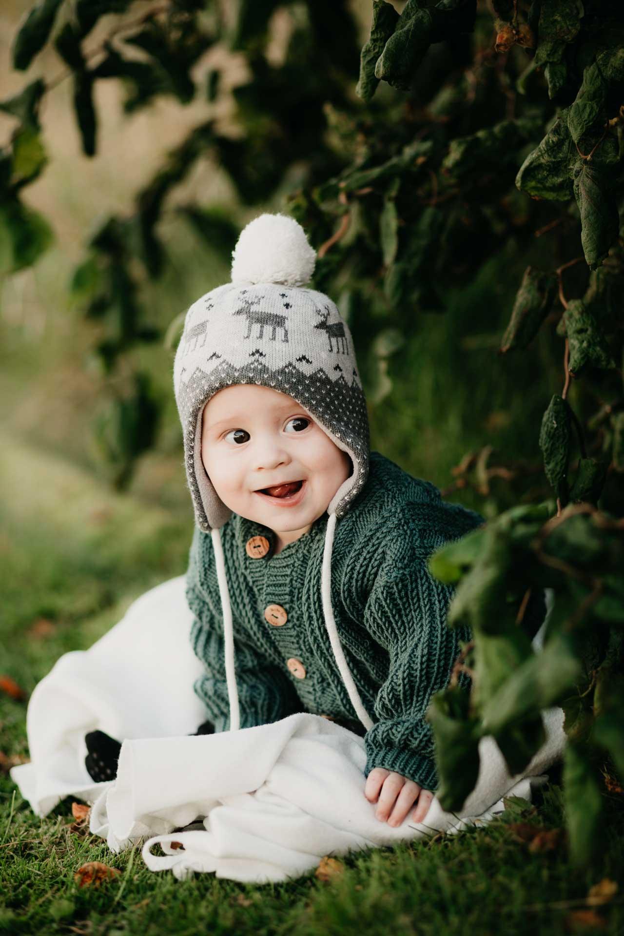 Portrætter af børn og familier